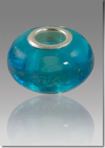 Aquamarine Cremation Bead