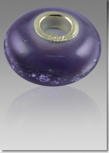 Purple Cremation Bead