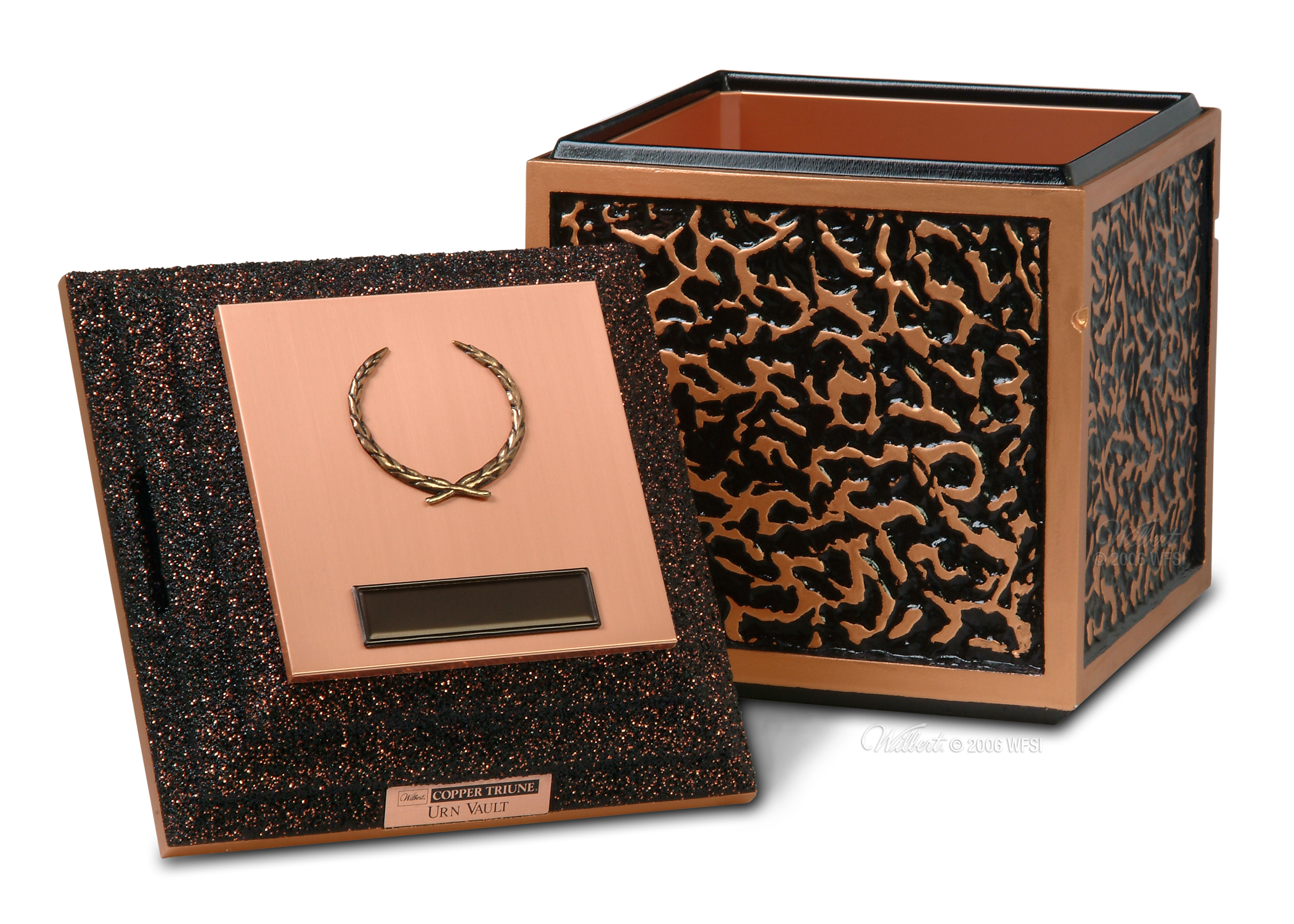 Copper Cremation Urn Vault