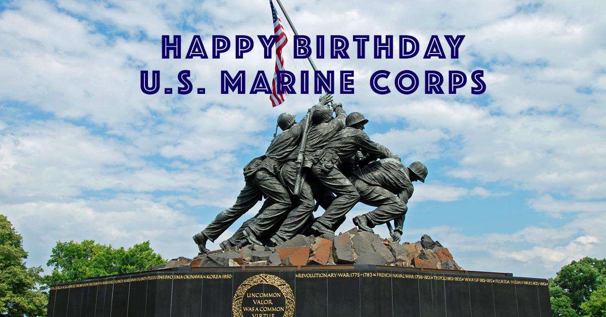 Happy Birthday U S Marine Corps Blog Callaway Jones Funeral Cremation Centers