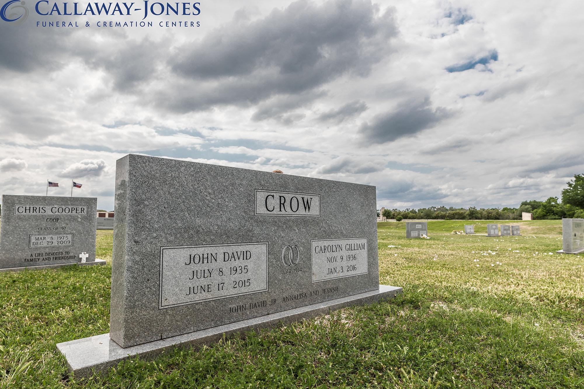 Aggie Field of Honor John David Crow